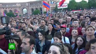 Лидер армянской оппозиции призвал воздержаться от протестов до переговоров в парламенте
