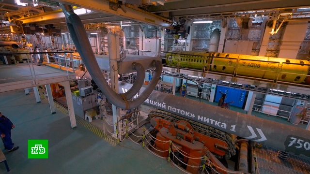 Завершено строительство первой нитки «Турецкого потока».газ, Газпром, Турция, энергетика.НТВ.Ru: новости, видео, программы телеканала НТВ