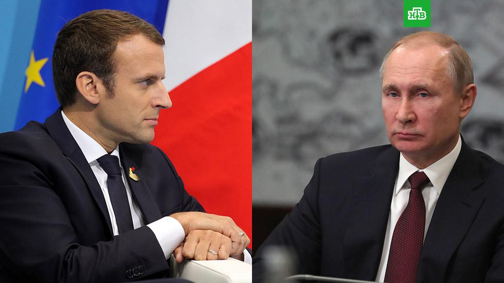 Путин и Макрон обсудили ситуацию вокруг ядерной сделки с Ираном
