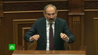 Правящая партия Армении отказалась поддержать Пашиняна на выборах премьера