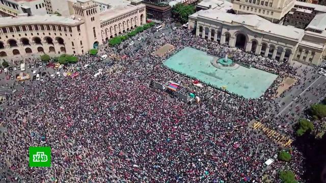 Правящая партия Армении заявила оготовности поддержать Пашиняна на выборах премьера.Армения, Ереван, выборы, митинги и протесты, оппозиция, парламенты.НТВ.Ru: новости, видео, программы телеканала НТВ