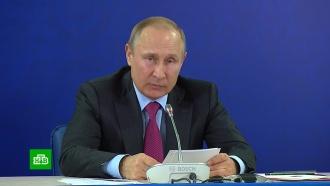 Путин ждет от сборной России «бескомпромиссного футбола» на <nobr>ЧМ-2018</nobr>