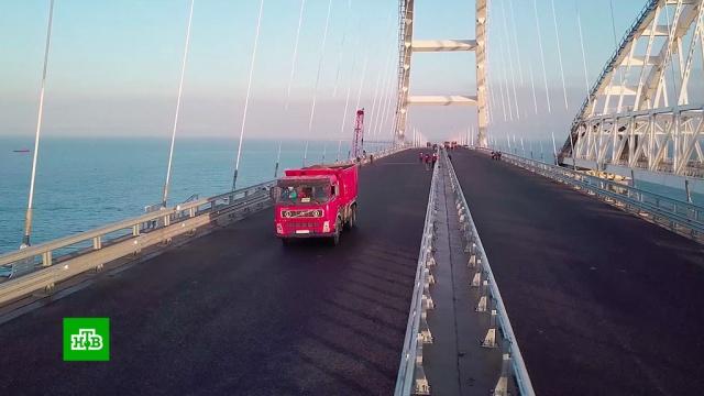 Новая точка на карте: как Крымский мост меняет обстановку вокруг полуострова.Крым, граница, корабли и суда, мосты.НТВ.Ru: новости, видео, программы телеканала НТВ