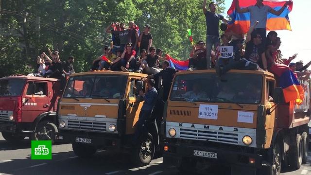 Пашинян призвал сторонников не проводить акции протеста 3мая.Армения, Ереван, митинги и протесты, оппозиция, парламенты.НТВ.Ru: новости, видео, программы телеканала НТВ