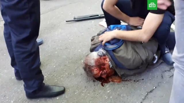 В Ереване полковник полиции совершил налет на банк, убив человека.банки, Ереван, задержание, кражи и ограбления, нападения.НТВ.Ru: новости, видео, программы телеканала НТВ