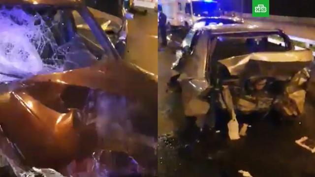 На севере МКАД столкнулись 7автомобилей, есть пострадавшие.ДТП, МКАД, Москва, автомобили, полиция.НТВ.Ru: новости, видео, программы телеканала НТВ