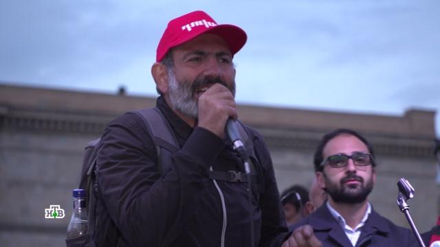 В правящей партии Армении обеспокоены отсутствием политической программы у Пашиняна.Армения, Ереван, митинги и протесты, оппозиция.НТВ.Ru: новости, видео, программы телеканала НТВ