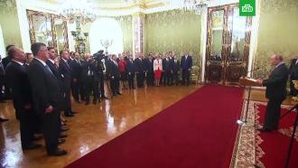 Путин поблагодарил членов правительства РФ за работу