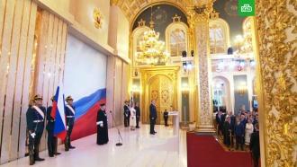 Путин вступил вдолжность президента России