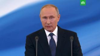 Путин: сделаю все, чтобы приумножить силу иславу России
