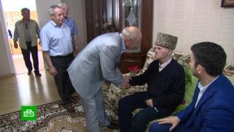 Век за плечами: ветеран из <nobr>Карачаево-Черкесии</nobr> отмечает <nobr>100-летний</nobr> юбилей