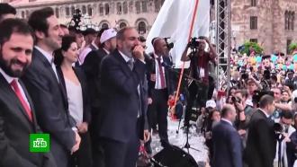 Путин провел телефонный разговор спремьером Армении