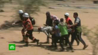Число жертв столкновений на границе сектора Газа достигло 40