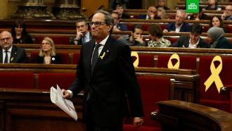 Парламент Каталонии избрал нового главу местного правительства.Испания, Каталония, парламенты.НТВ.Ru: новости, видео, программы телеканала НТВ