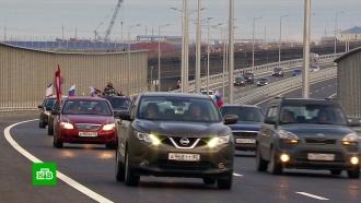 Поток транспорта по Крымскому мосту впервыйже день побил рекорд Керченской переправы