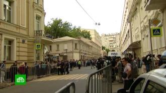 В украинском посольстве в Москве проигнорировали митинг в защиту Вышинского