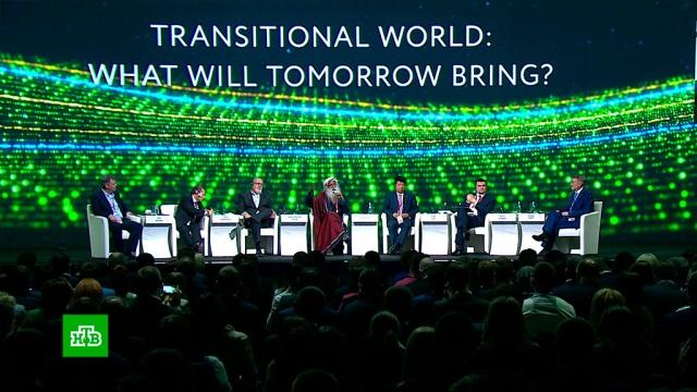 Индийский мистик Садхгуру рассказал на ПМЭФ о будущем человека в цифровом мире.Греф, ПМЭФ, Сбербанк, технологии, цифровая экономика.НТВ.Ru: новости, видео, программы телеканала НТВ