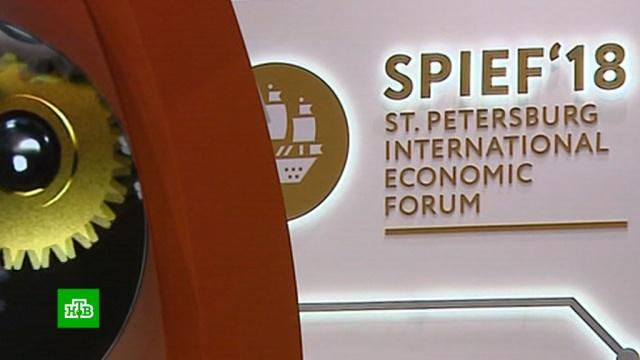 ВПетербурге начинает работу Международный экономический форум.Санкт-Петербург, МВФ, Путин, Япония, экономика и бизнес, ПМЭФ, Макрон.НТВ.Ru: новости, видео, программы телеканала НТВ