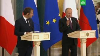 Путин вответ на вопрос оСенцове напомнил про задержание Вышинского на Украине