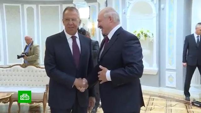 В Минске Лавров обсудил с Лукашенко взаимодействие с НАТО и ЕС.Лукашенко, футбол, НАТО, Лавров, Европейский союз, визы, армии мира, Белоруссия.НТВ.Ru: новости, видео, программы телеканала НТВ