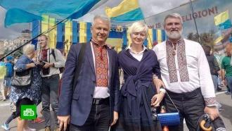 Украинские патриоты ссорятся из-за языка на русском