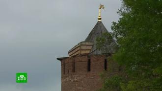 Ураганный ветер сорвал крышу с Нижегородского кремля