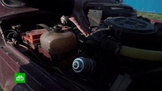 <nobr>Чудо-машина</nobr>: омский изобретатель перешел сбензина на мусор