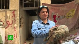 Жительница Сирии нашла место гибели брата по фотографиям со зверствами ИГ