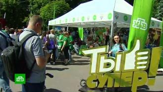 Проекты НТВ участвуют в«Большом фестивале добровольцев»
