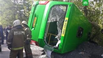 В Екатеринбурге 24 человека пострадали в ДТП с автобусом