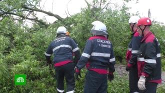 Тысячи жителей Липецка остались без электричества <nobr>из-за</nobr> грозы имощного ветра