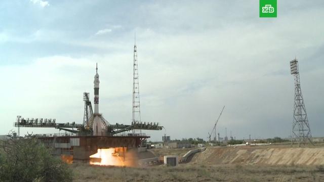 Корабль «Союз МС-09» отправился кМКС сБайконура.Байконур, МКС, Роскосмос, запуски ракет, космонавтика, космос.НТВ.Ru: новости, видео, программы телеканала НТВ