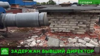 ВШлиссельбурге после обрушения потолка вбассейне задержан <nobr>экс-директора</nobr> спорткомплекса