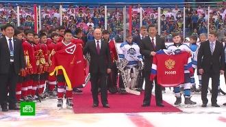 Орден, хоккей исовместное заявление: итоги первого дня визита Путина вКитай