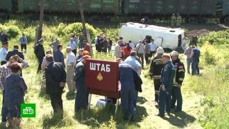 Число раненных вДТП савтобусом ипоездом под Орлом увеличилось до 12