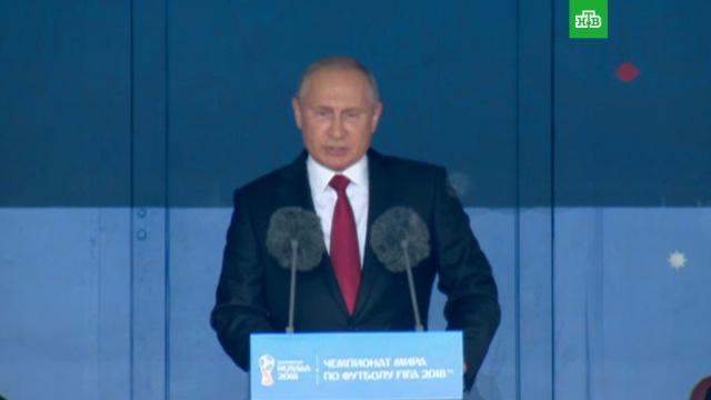 Путин пожелал успеха всем командам на ЧМ-2018.НТВ.Ru: новости, видео, программы телеканала НТВ