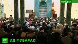 Ураза-байрам собрал на улицах Петербурга 150 тысяч мусульман