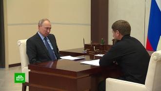 Кадыров сообщил Путину об инвестициях Саудовской Аравии вЧечню