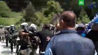В Греции произошли беспорядки из-за соглашения с Македонией: есть пострадавшие