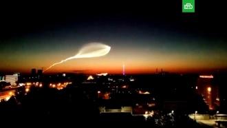«Красивая медуза»: россияне приняли запуск ракеты за НЛО
