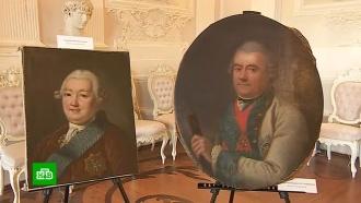 Похищенные нацистами картины вернулись в Гатчинский дворец
