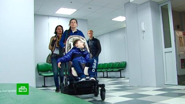 Жительница Тюмени пытается через суд наказать врачей, сделавших ее сына инвалидом.врачебные ошибки, дети и подростки, медицина, суды, Тюмень.НТВ.Ru: новости, видео, программы телеканала НТВ
