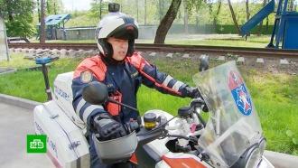 Борьба за драгоценные секунды: московские спасатели пересели на мотоциклы