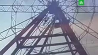 Любитель селфи упал с колеса обозрения в Иркутске