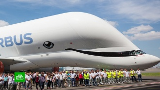 Airbus представила «самый счастливый самолет в мире»