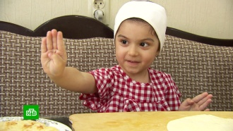 Четырехлетняя блогерша из Нальчика завоевывает Интернет кулинарными шедеврами