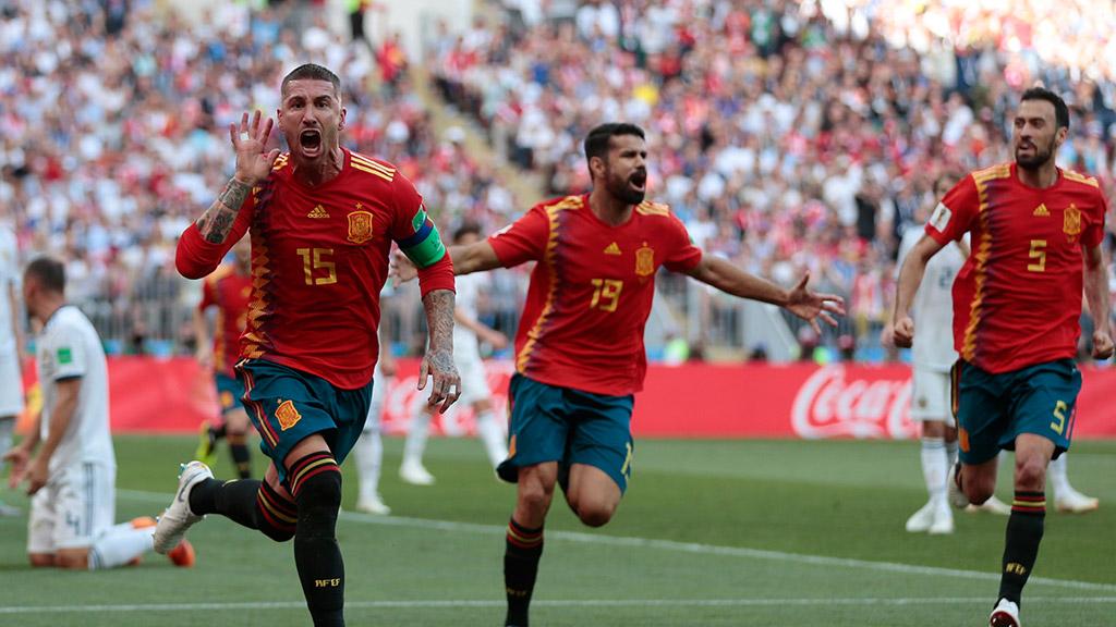 Испания счет футбол
