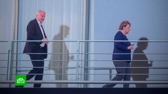 Меркель поговорила сглазу на глаз спредъявившим ей ультиматум министром