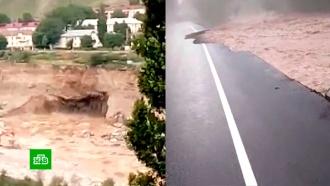 Разрушительный оползень в Кабардино-Балкарии попал на видео