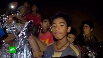 Волонтеры из России помогают родителям заблокированных в пещере детей в Таиланде